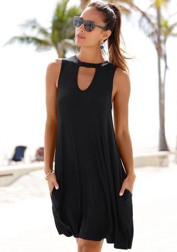 Beachtime Strandkleid mit modischem Ausschnitt