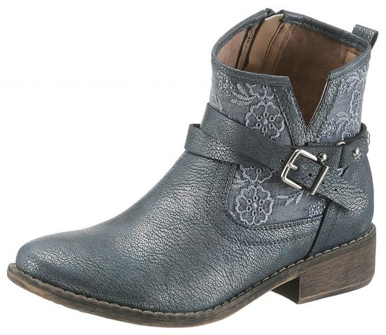 Im Arizona look Metallic Stiefelette Arizona Stiefelette HZ6nqvTq