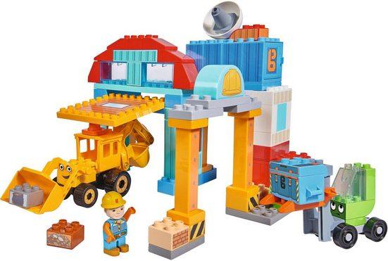 BIG Konstruktions-Spielset »BIG-Bloxx Bob der Baumeister, Bob's Werkstatt«, (96 St)
