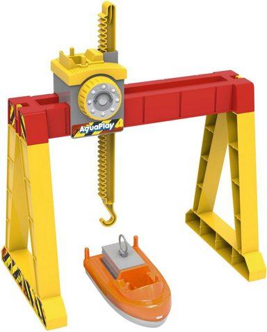 BIG Wasserbahn »AquaPlay ContainerCrane Set, 3-tlg.«