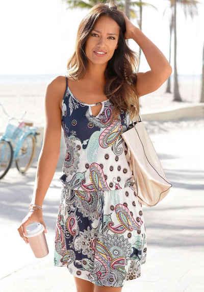 Beachtime Strandkleid mit Paisleymuster
