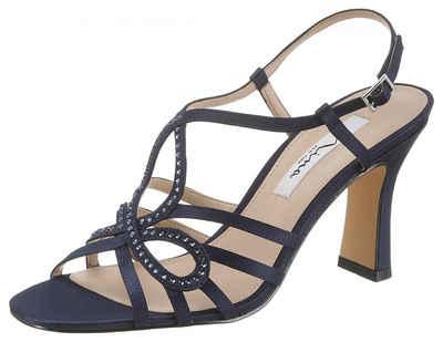 3768b48ab9be Nina »Amabel« Sandalette mit funkelnden Strasssteinen besetzt
