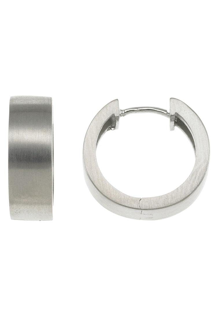XENOX Paar Creolen »Classic in steel, X1767«