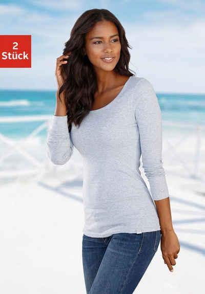 Langarmshirts für Damen online kaufen   OTTO 0bfcedfd52