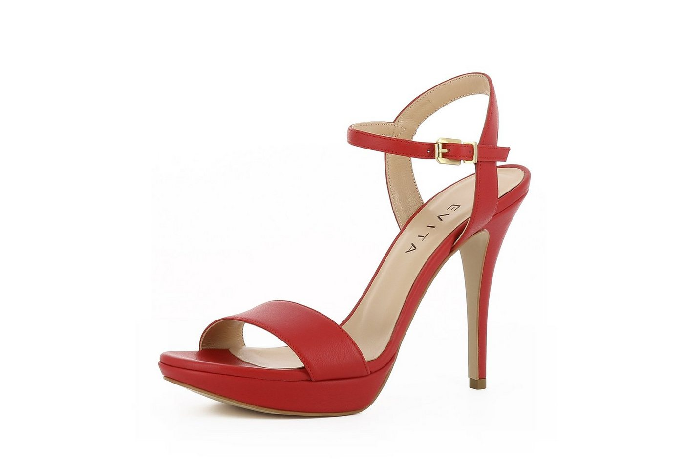 Evita »VALERIA« High-Heel-Sandalette   Schuhe > High Heels > High Heel Sandaletten   Rot   Evita