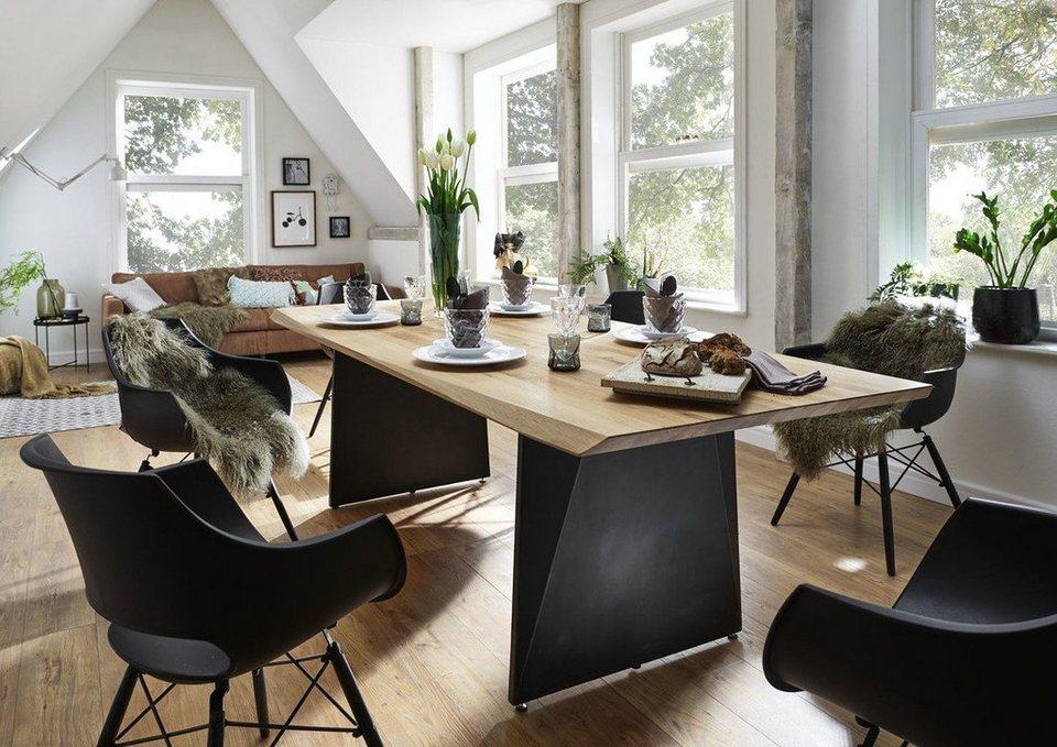 Wohndesign: Kasper-Wohndesign Esstisch Wildeiche Massiv Versch. Größen