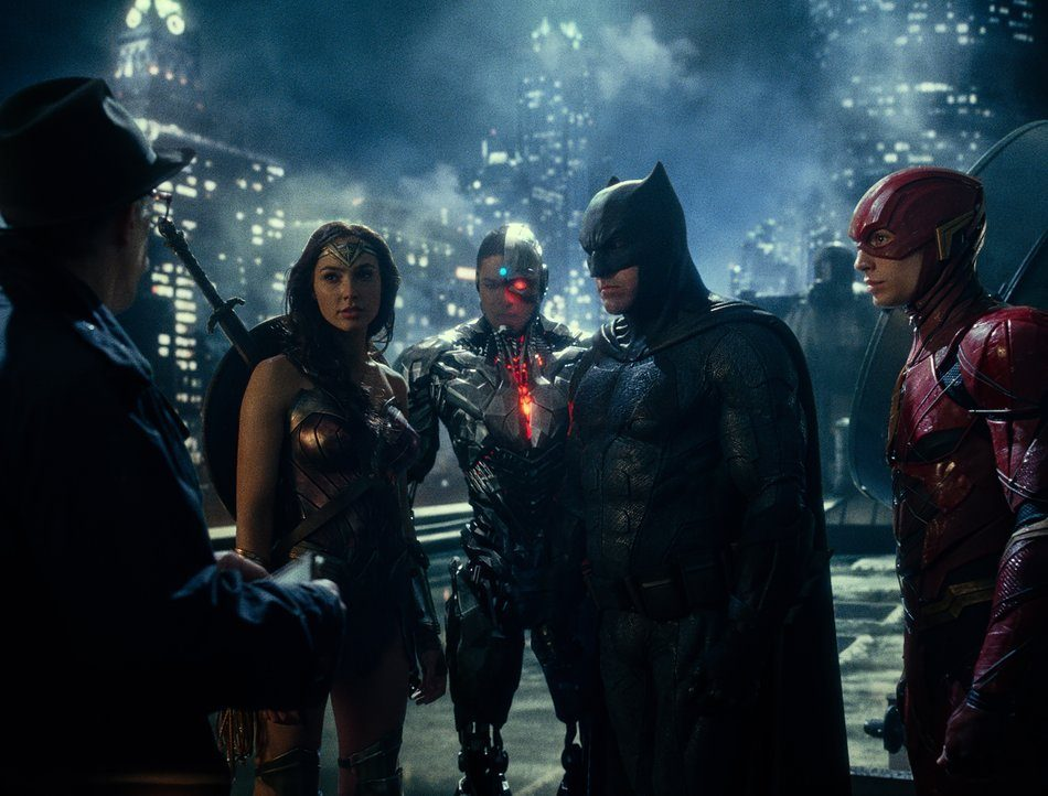 Warner Games DVD - Film »Justice League«