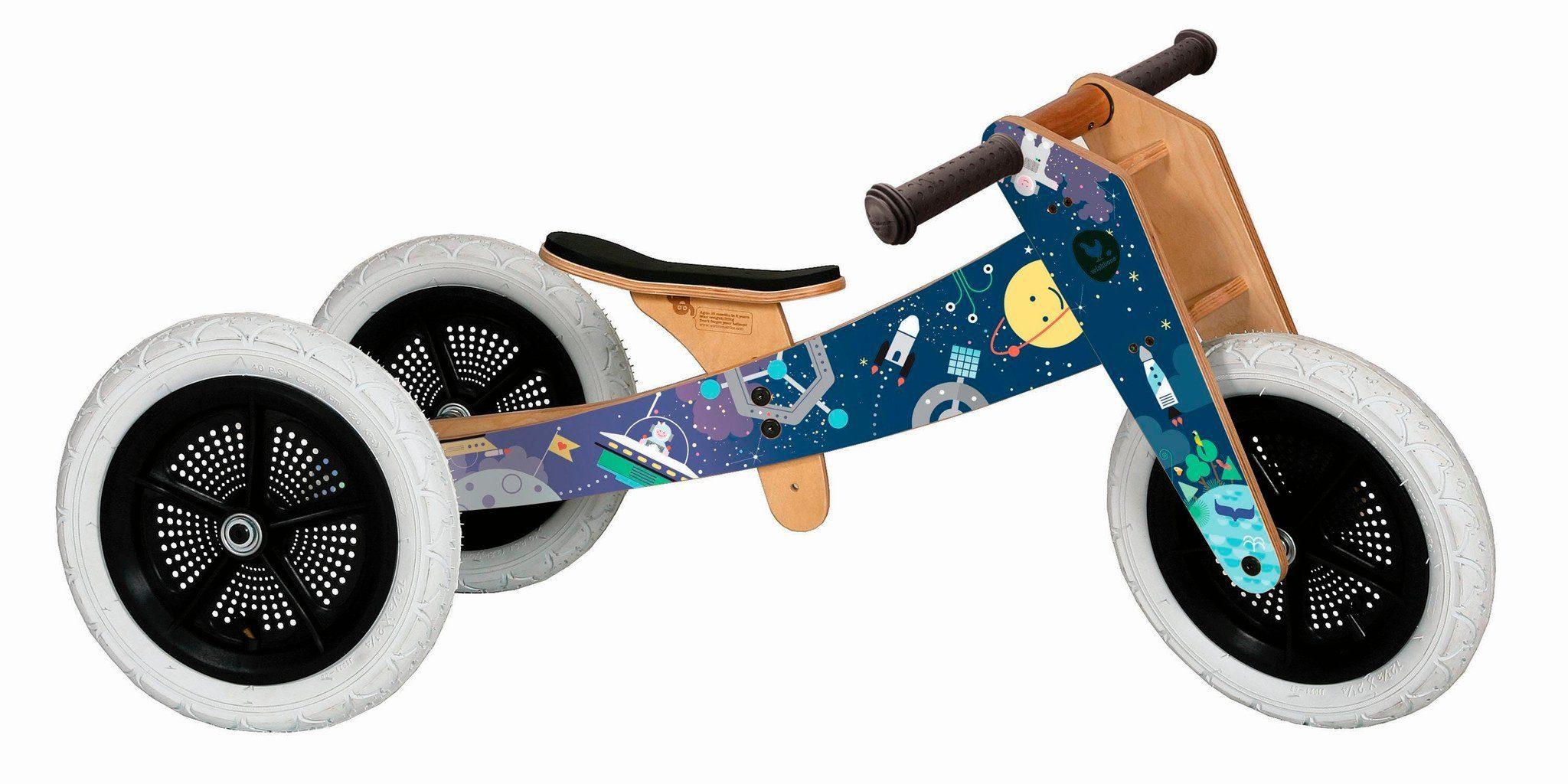 Wishbone Kinderfahrzeug »3 in 1 Design Bike Space Limited 2018«