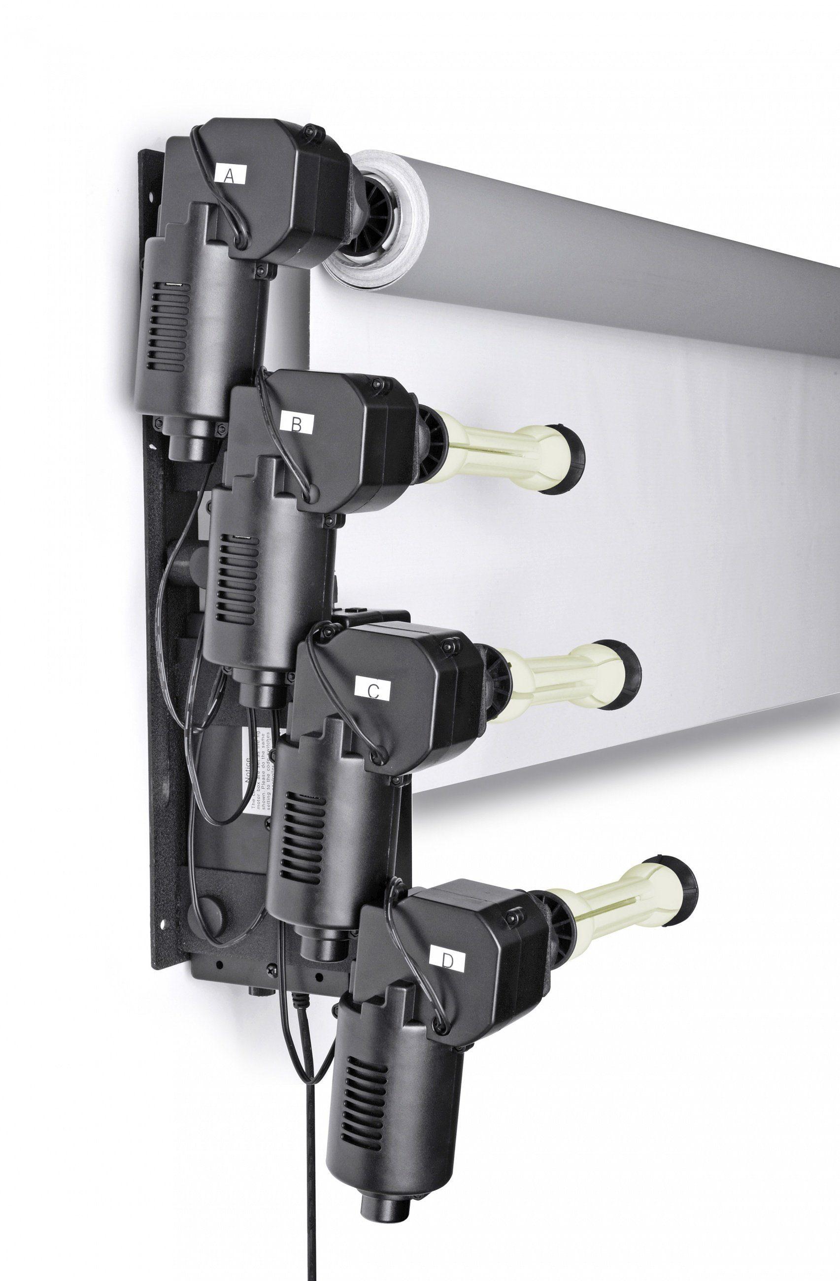 Bresser Fotostudio »MB-6Y Elektrische Wandhalterung für 6 Hintergrundr«