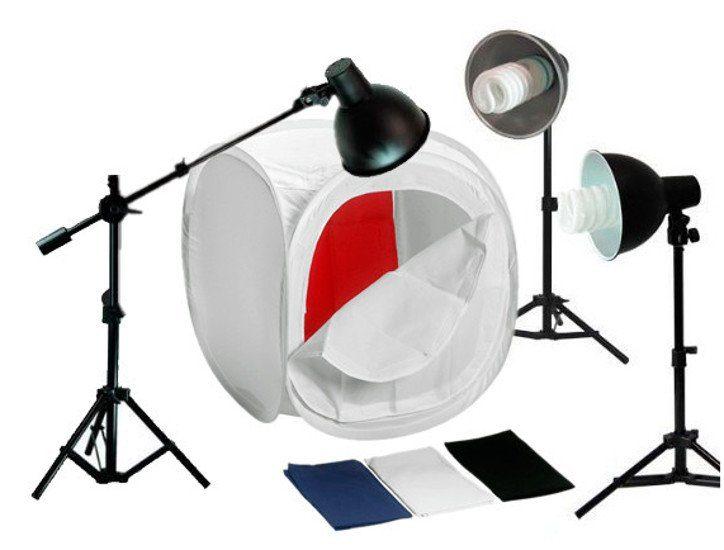 Bresser Fotostudio »BR-2244 Produktaufnahme-Set 80x80X80cm«