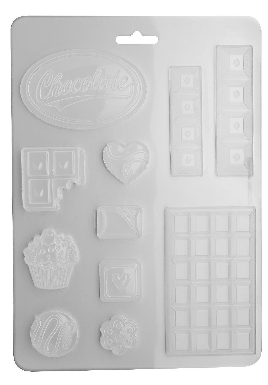 "Stamperia Gießform ""Chocolate"""