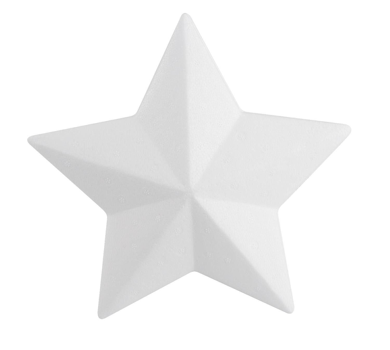 VBS Styroporform Stern, 20 cm