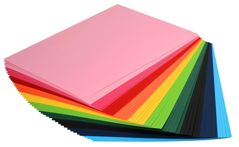 "VBS Tonkarton Block ""DIN A4"" 50 Blatt farbig"