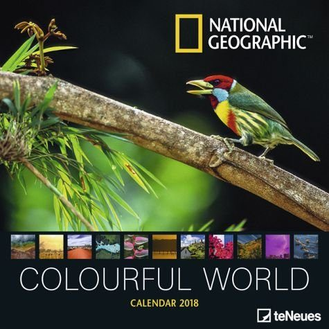 Kalender »National Geographic Colourful World 2018«