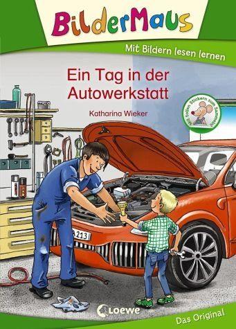 Gebundenes Buch »Bildermaus - Ein Tag in der Autowerkstatt«