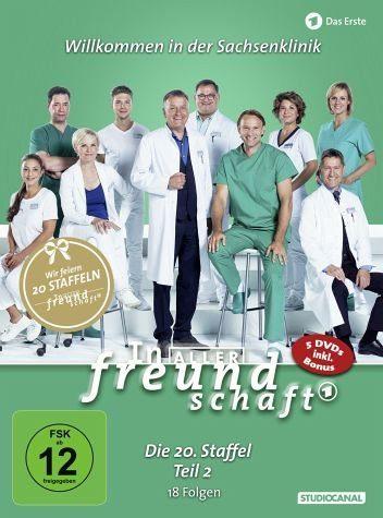 DVD »In aller Freundschaft - Die 20. Staffel, Teil...«