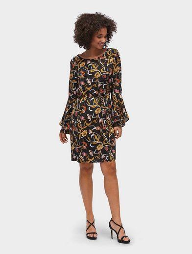 TOM TAILOR Blusenkleid »Kleid mit Taillengürtel«   OTTO
