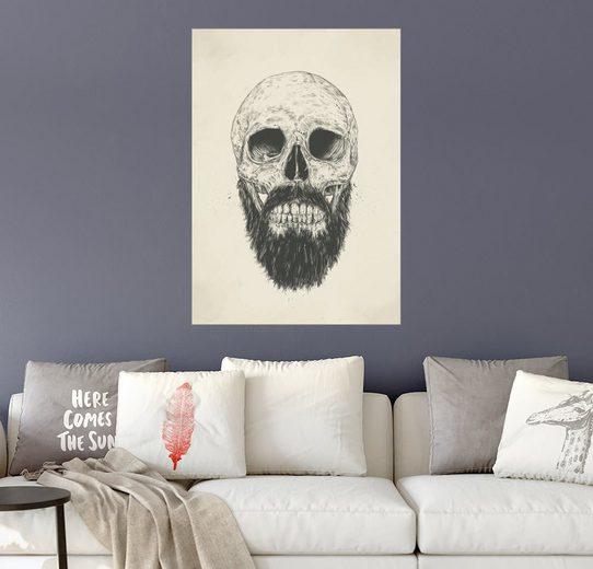 Posterlounge Wandbild - Balazs Solti »The beard is not dead«