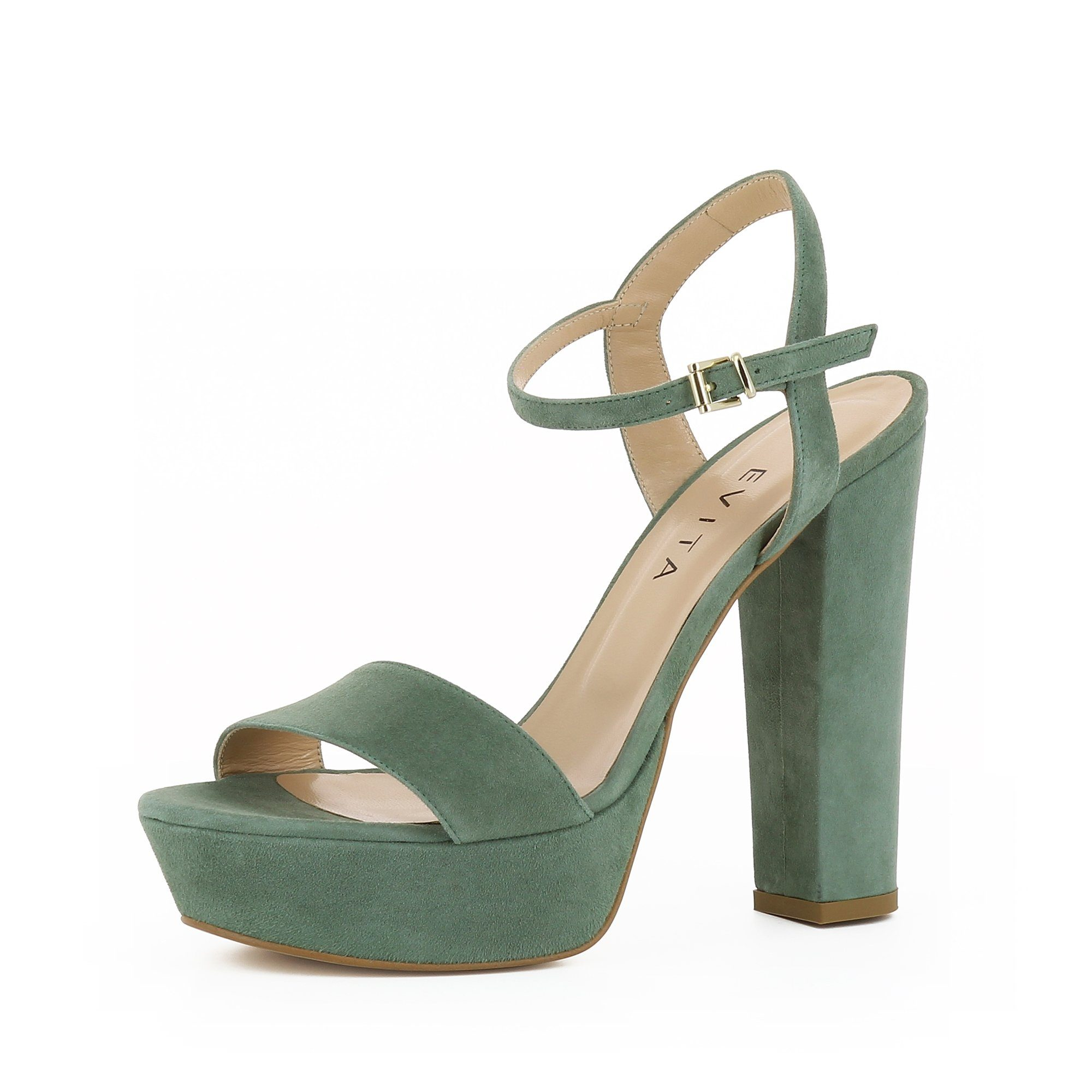 Evita STEFANIA High-Heel-Sandalette kaufen  olivgrün