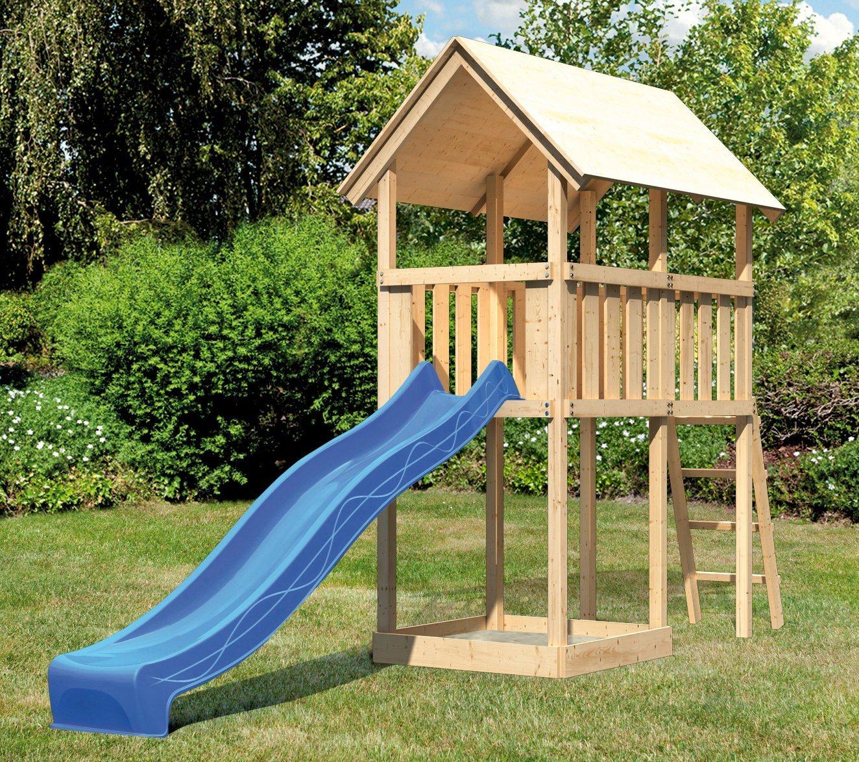 ABUKI Spielturm »Winnie 3«, BxT: 107x202 cm, mit Rutsche