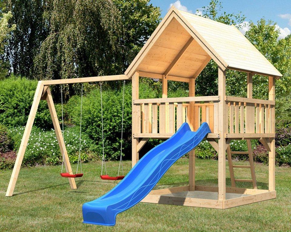 Beliebt ABUKI Spielturm »Lenie C«, BxT: 476x276 cm, mit Doppelschaukel LE06