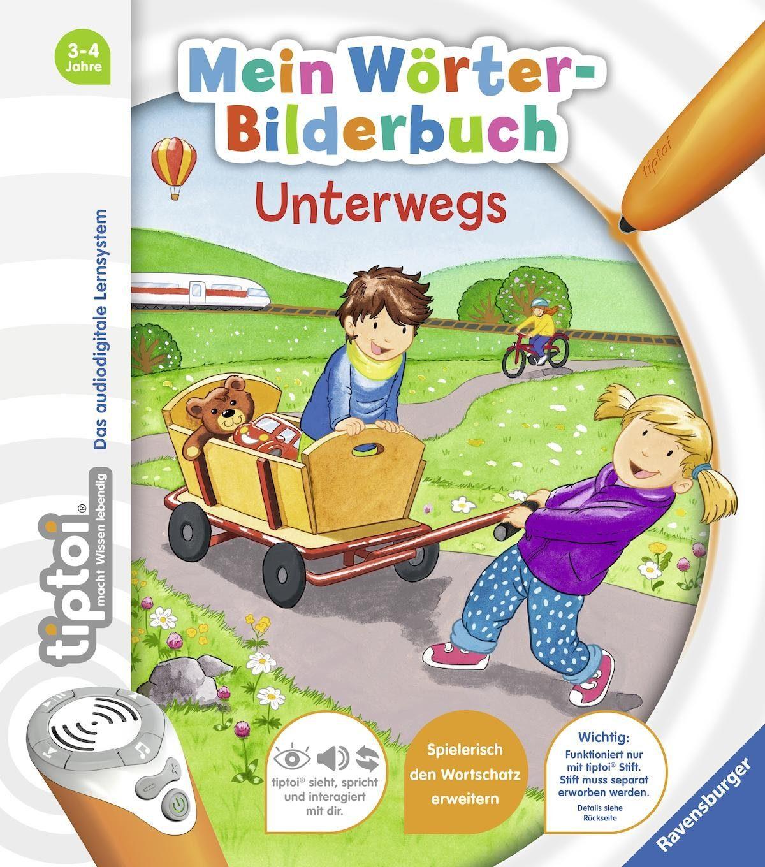 Ravensburger Buch, »tiptoi® Mein Wörter-Bilderbuch: Unterwegs«