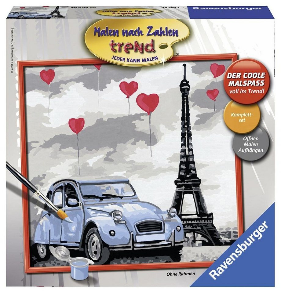 Ravensburger Malen Nach Zahlen Paris Kaufen Otto