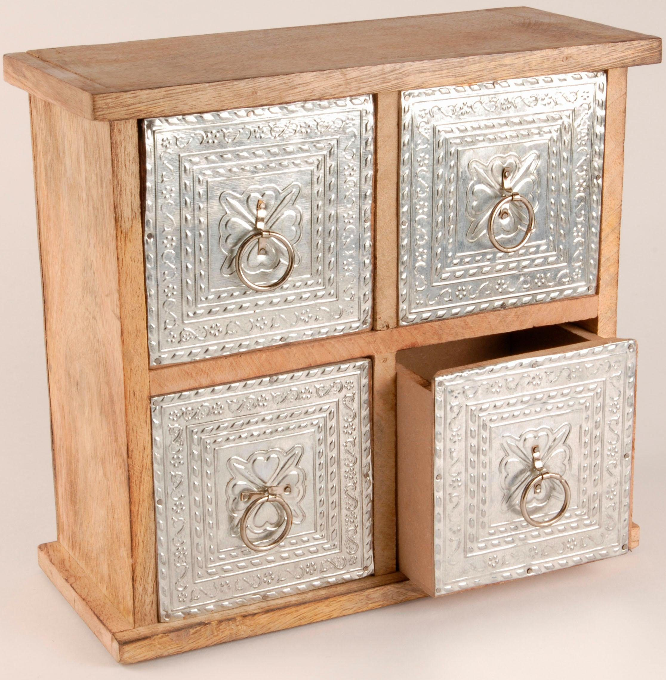 Home affaire 4-Schubladen-Box »23/21 cm«