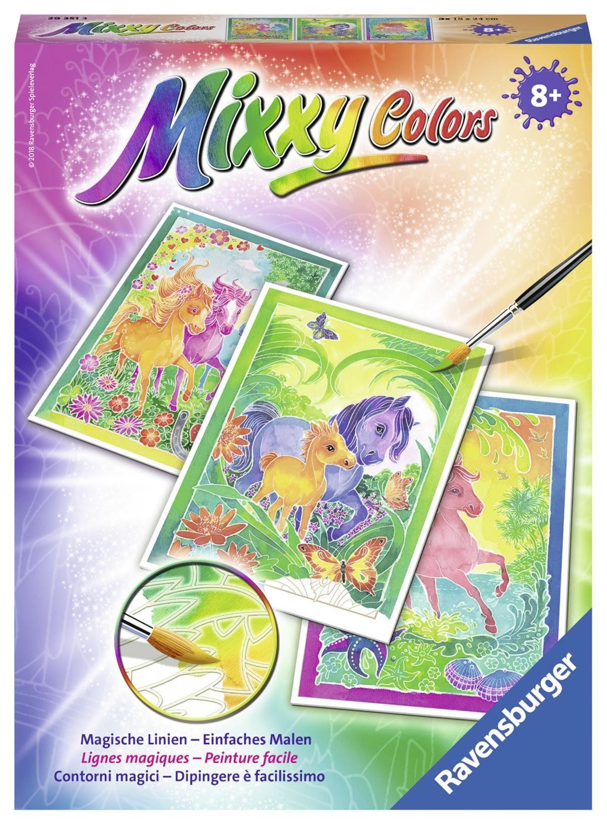 Ravensburger Malset, »Mixxy Colors Ponys«