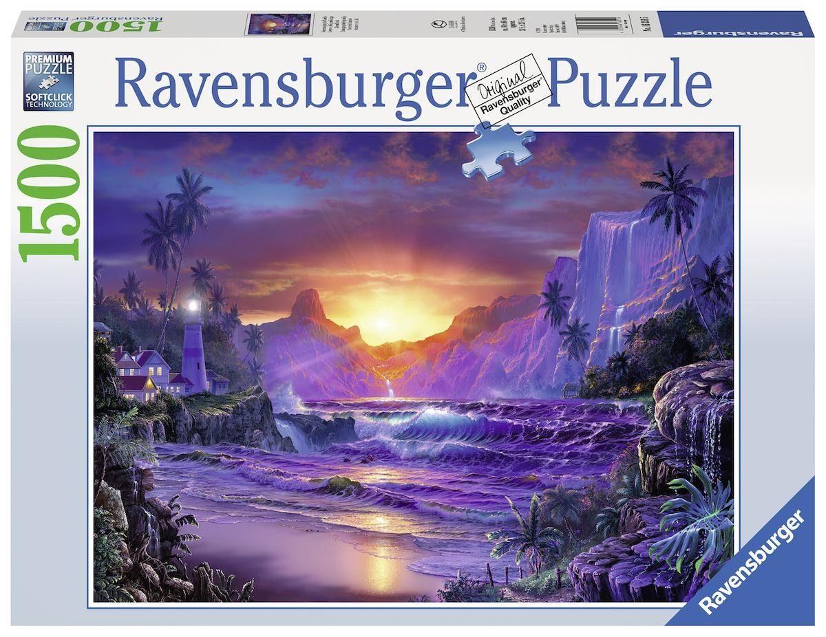 Ravensburger Puzzle, 1500 Teile, »Sonnenaufgang im Paradies«