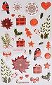maildor Sticker »Weihnachten«, 8 Blatt, Bild 5