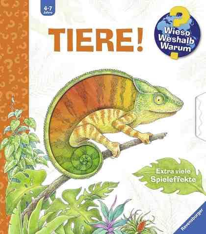 Ravensburger Kinderbuch, »Tiere! / Wieso? Weshalb? Warum?«