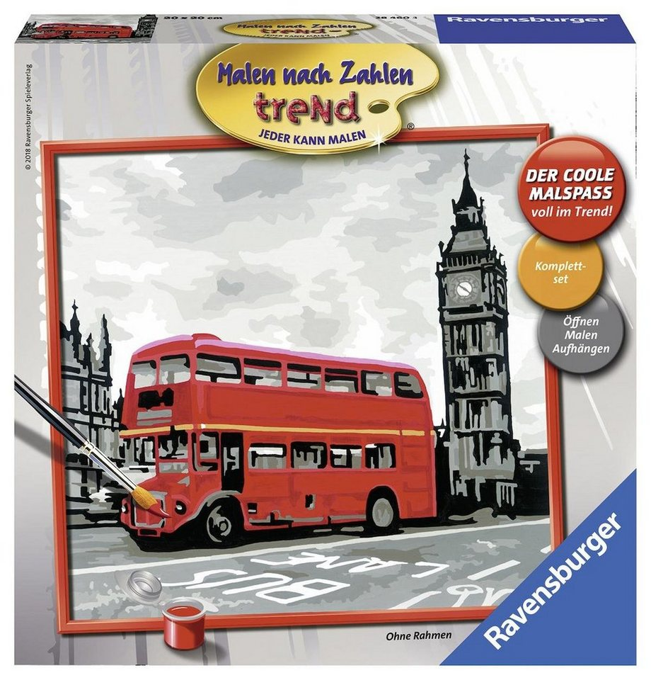 Ravensburger Malen nach Zahlen,  London  kaufen