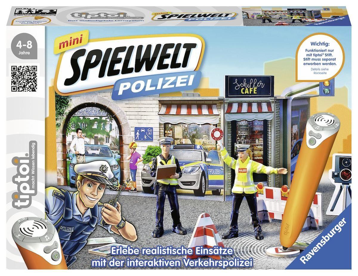 Ravensburger Spielset, »tiptoi® mini Spielwelt Polizei: Verkehrspolizei«