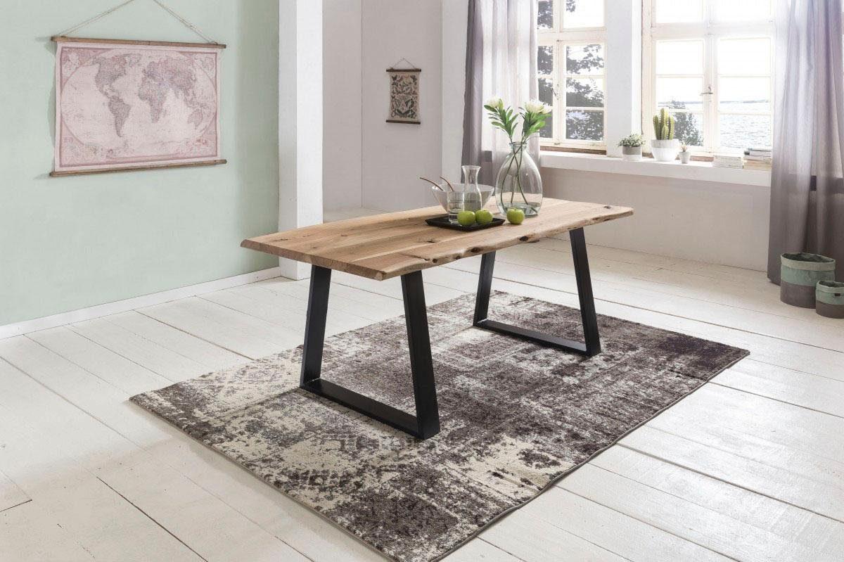 Home affaire Esstisch »GAYA« mit einer Naturbelassener Tischplatte