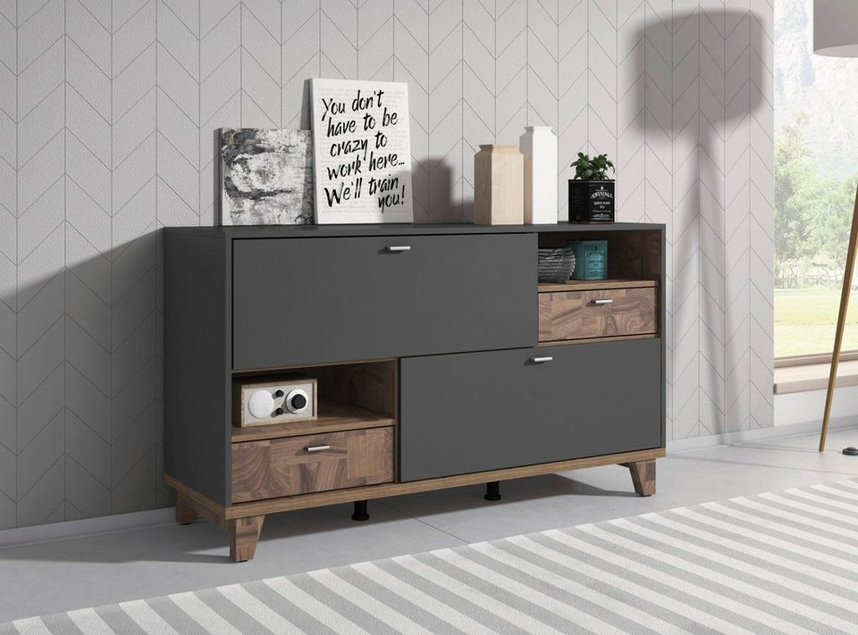 sideboard move breite 140 cm online kaufen otto. Black Bedroom Furniture Sets. Home Design Ideas
