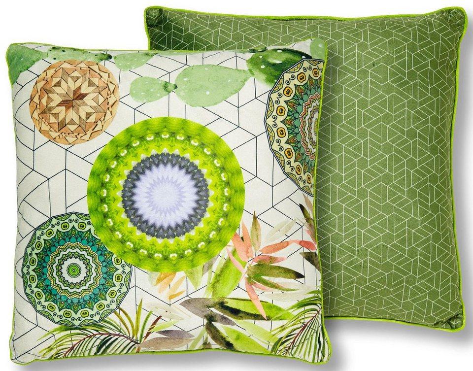 dekokissen bodhini hip mit floralen muster otto. Black Bedroom Furniture Sets. Home Design Ideas