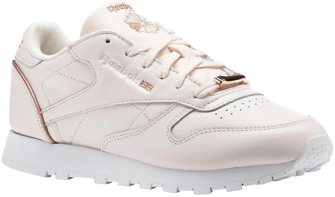 Reebok Classic »Classic Leather HW« Sneaker, rosa, rosa-roségoldfarben