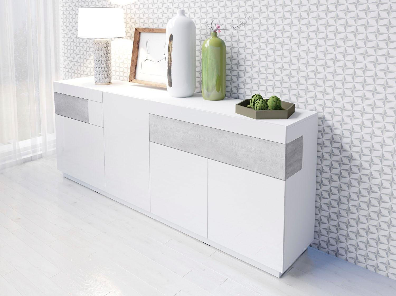 hochglanz melamin sideboards online kaufen m bel suchmaschine. Black Bedroom Furniture Sets. Home Design Ideas