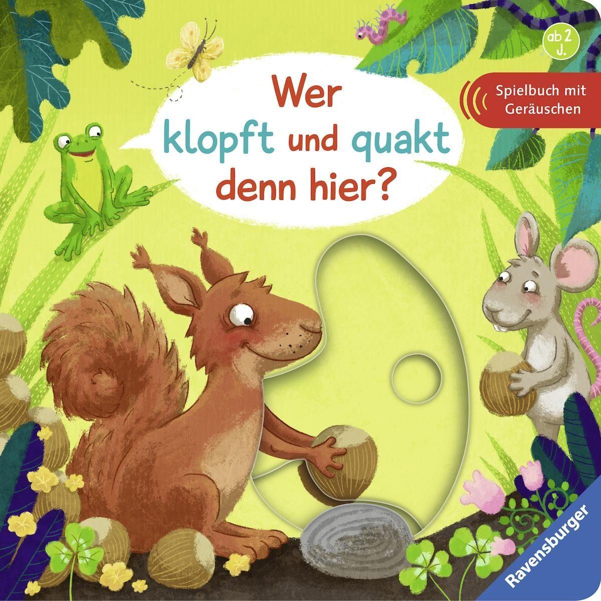 Ravensburger Bilderbuch, »Wer klopft und quakt denn hier?«