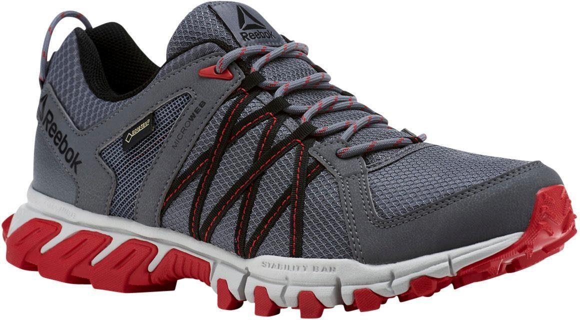 Reebok Trailgrip RS 50 Goretex Walkingschuh  grau-rot