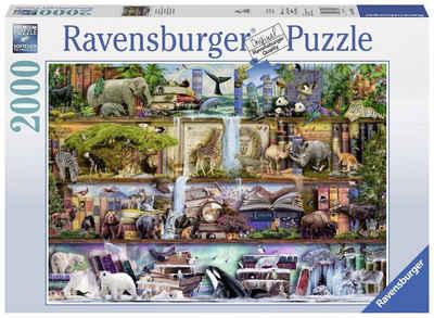 Ravensburger Puzzle »Aimee Stewart, Großartige Tierwelt«, 2000 Puzzleteile, Made in Germany, FSC® - schützt Wald - weltweit