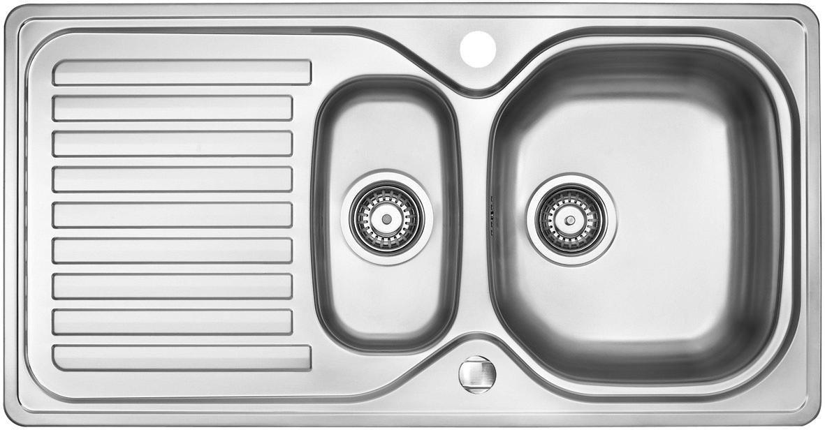 OPTIFIT Edelstahl-Einbauspüle | Küche und Esszimmer > Spülen > Einbauspülen | Edelstahl | OPTIFIT