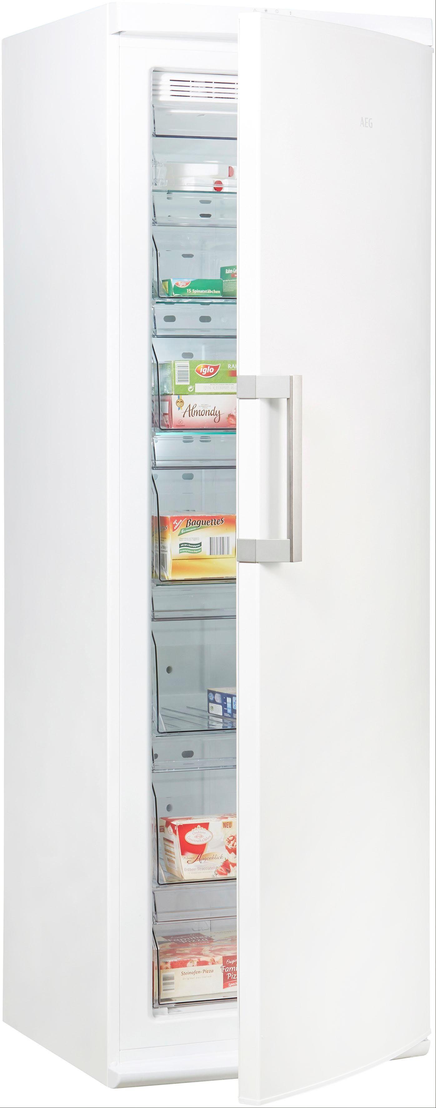 AEG Gefrierschrank AGB62521NW, 185 cm hoch, 59,5 cm breit