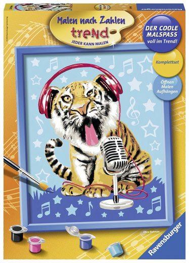 Ravensburger Malen nach Zahlen »Singing Tiger«