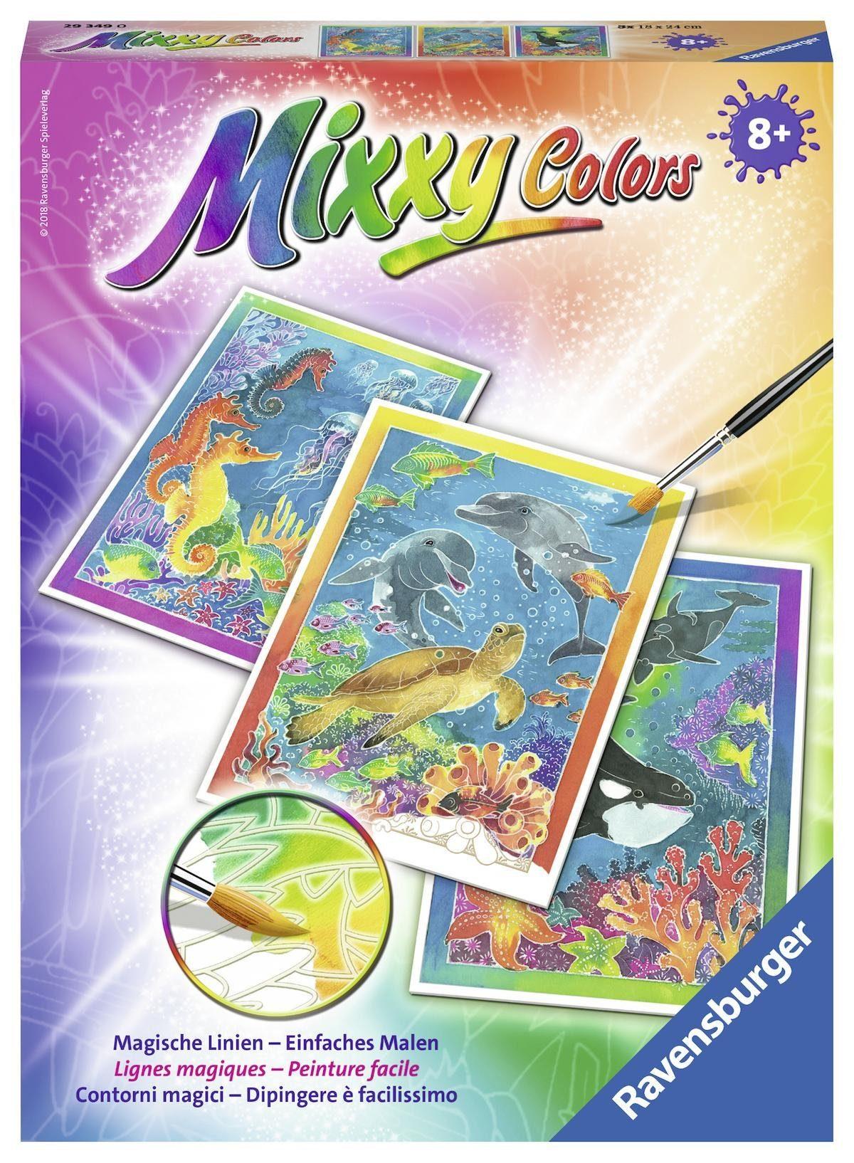 Ravensburger Malset, »Mixxy Colors Bunte Unterwasserwelt«