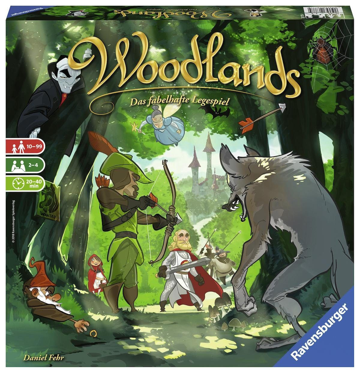 Ravensburger Strategiespiel, »Woodlands«