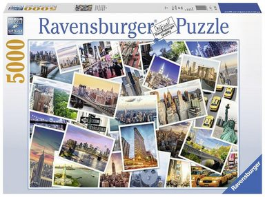 Ravensburger Puzzle »New York - the City never sleeps«, 5000 Teilig, Softclick Technology.