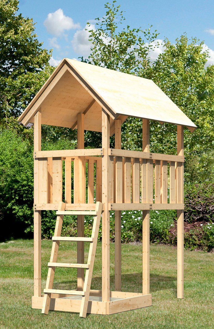 ABUKI Spielturm »Winnie 1«, BxT: 107x202 cm