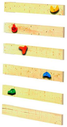 ABUKI Spielturm mit  Winnie 20 , BxT: 484x183 cm, mit Spielturm Doppelschaukel, Kletterwand und Farbe online kaufen dcada6